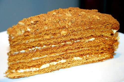 Торт с мёдом «Медовичок»