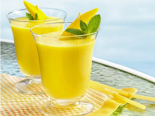 Молочный коктейль «Тропический манго»