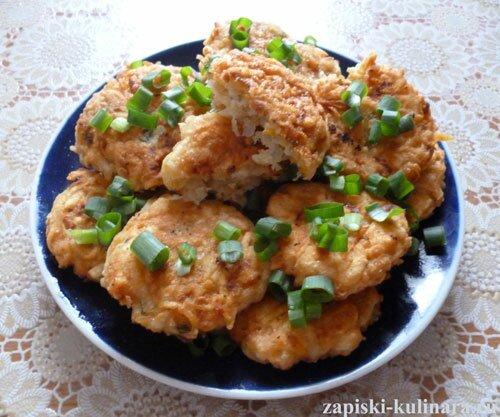 Картофельные оладьи - деруны