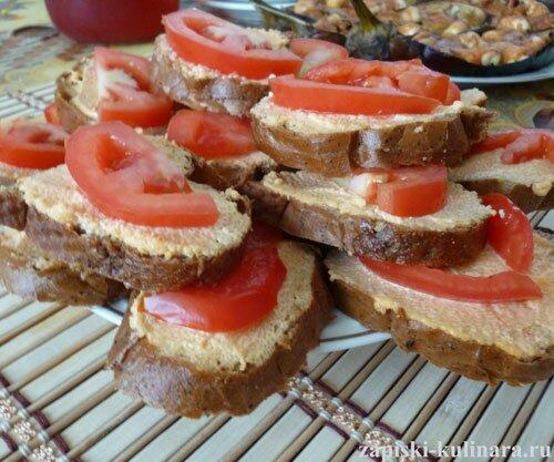 Бутерброды на скорую руку с икрой